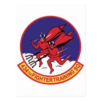 434th Fighter Training Squadron Postcard