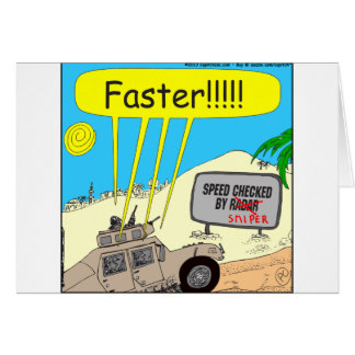 435 speed checked by sniper Cartoon Cards