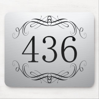 436 Area Code Mouse Pads