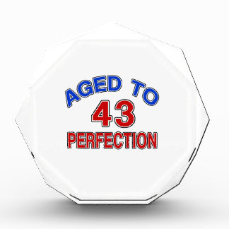 43 Aged To Perfection Award
