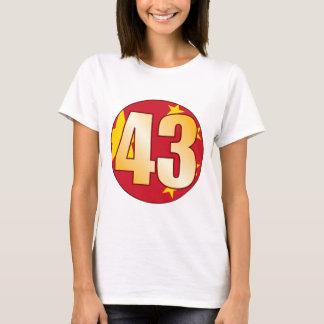 43 CHINA Gold T-Shirt
