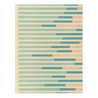 43 empleos por el color, nacionalidad 1890 tarjetas postales