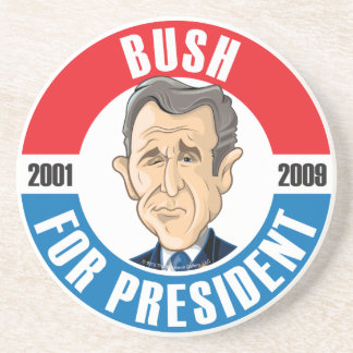 #43 George W. Bush Campaign Coaster