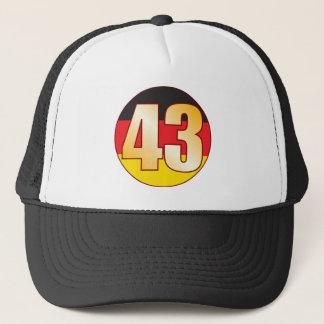 43 GERMANY Gold Trucker Hat