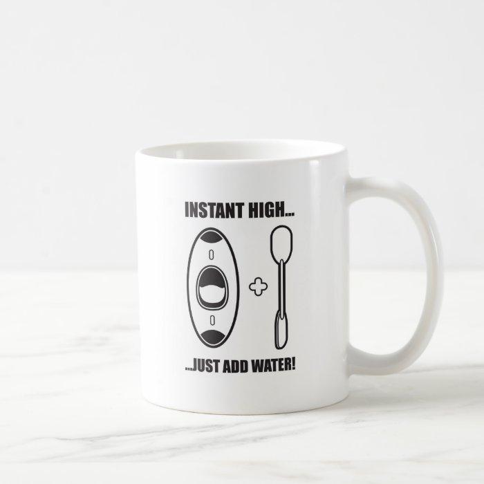 43. instant high coffee mug