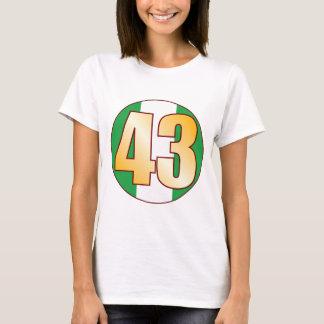 43 NIGERIA Gold T-Shirt