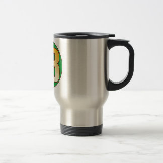 43 NIGERIA Gold Travel Mug