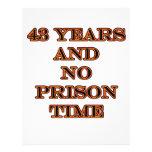 43 ninguna hora de prisión tarjetón