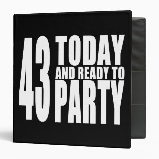 43 o Fiestas de cumpleaños 43 hoy y aliste para i