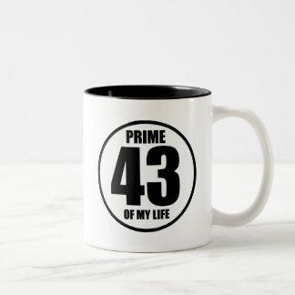 43 - prima de mi vida taza de dos tonos