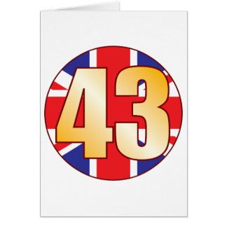 43 UK Gold Card
