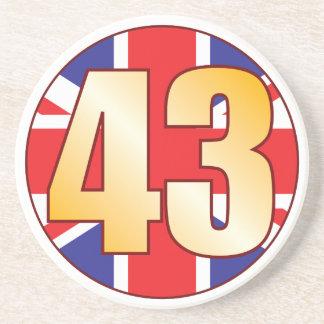 43 UK Gold Drink Coaster