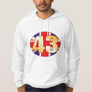 43 UK Gold Hoodie
