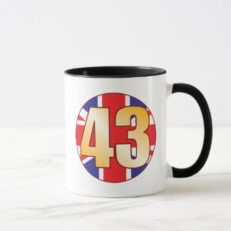 43 UK Gold Mug