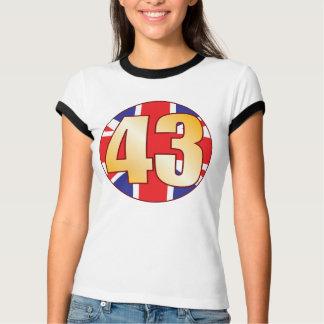 43 UK Gold T-Shirt
