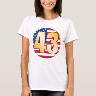 43 USA Gold T-Shirt