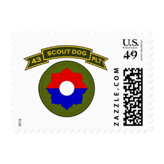 43d IPSD - 9th Infantry Postage Stamps