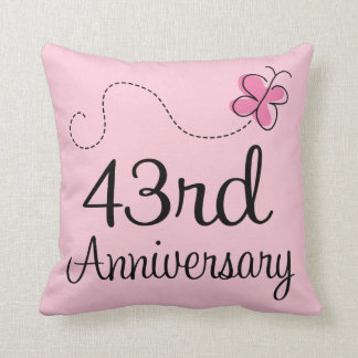 43rd Wedding Anniversary Decor Zazzle