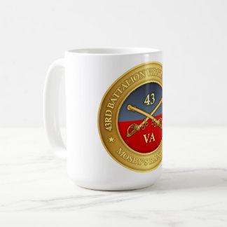 43rd Battalion, Virginia Cavalry (Mosby's Rangers) Coffee Mug