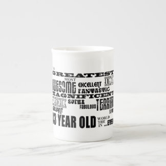 43rd Birthday Party Greatest Forty Three Year Old Bone China Mugs