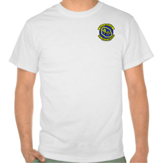 43rd TFS w/Eagle - Light colored Tshirts