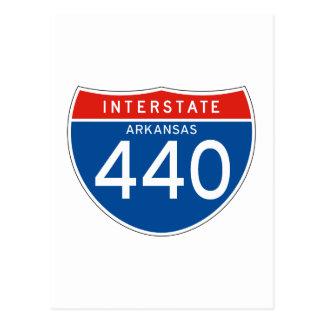 440-Interstate Sign 440 - Arkansas Postcards
