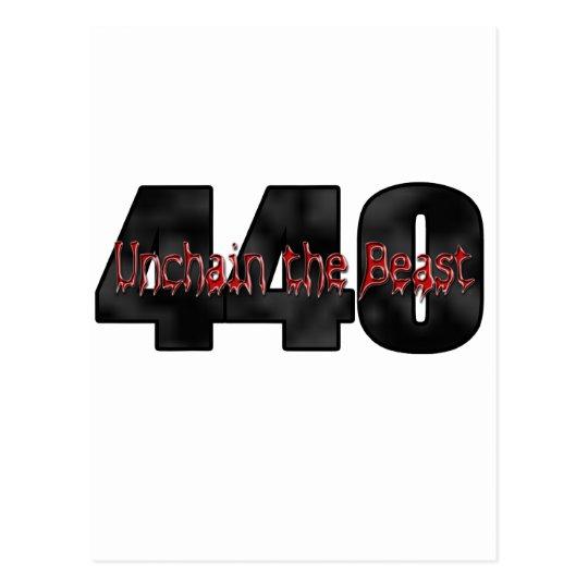 440 Mopar Beast Postcard