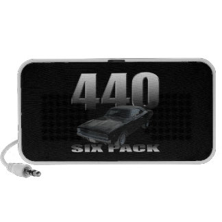 440 six pack dodge charger iPod speakers