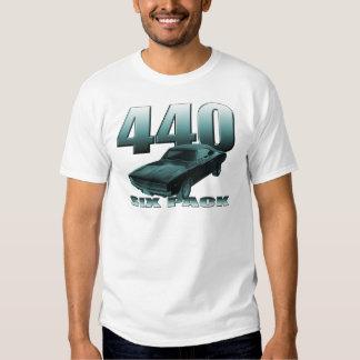 440 six pack dodge mopar charger t-shirts