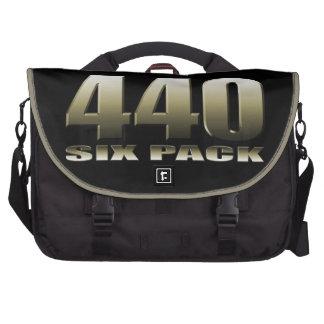 440 six pack Mopar Dodge Laptop Messenger Bag