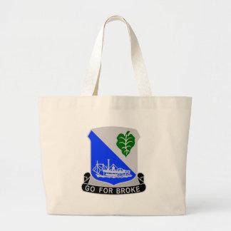 442 Infantry Regiment Jumbo Tote Bag