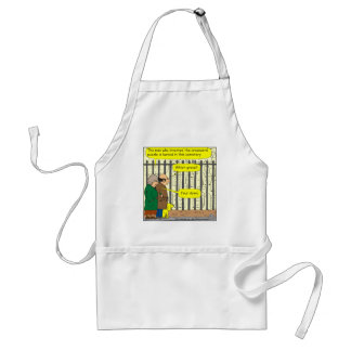 442 Where is the crossword inventor buried? Adult Apron