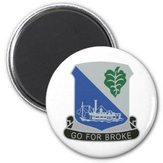 442nd Infantry Regiment 2 Inch Round Magnet