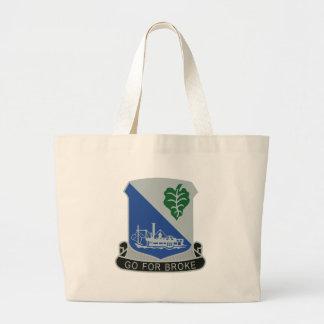 442nd Infantry Regiment Jumbo Tote Bag