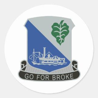 442nd Infantry Regiment Classic Round Sticker