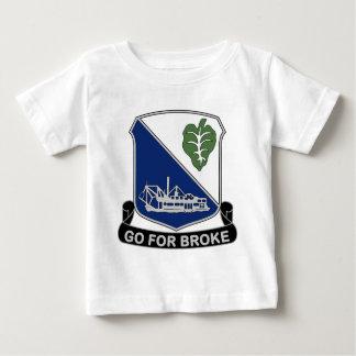442nd Infantry Regiment - Go For Broke Baby T-Shirt