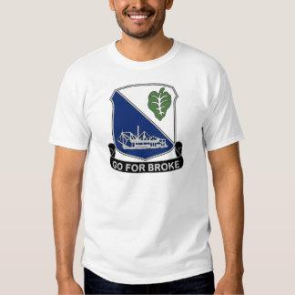 442nd Infantry Regiment - Go For Broke Shirts