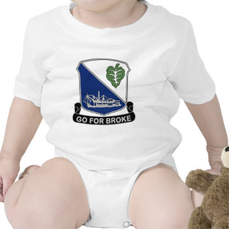 442nd Infantry Regiment - Go For Broke Bodysuits
