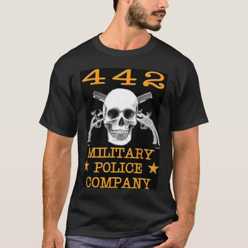 442nd military police company protectors empire t shirt for Military t shirt companies