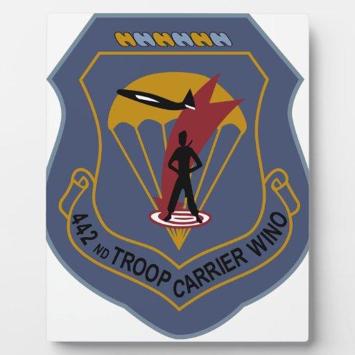 442nd Troop Carrier Wing Display Plaques