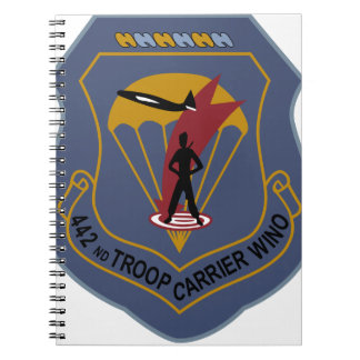 442nd Troop Carrier Wing Note Books