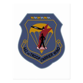 442nd Troop Carrier Wing Postcard
