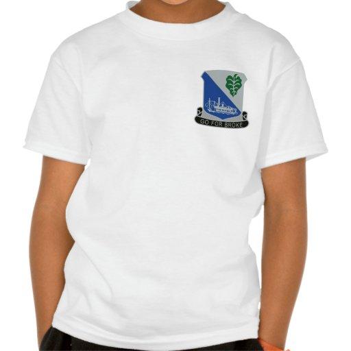 442o Regimiento de infantería Camiseta