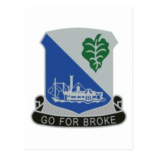 442o Regimiento de infantería Tarjeta Postal
