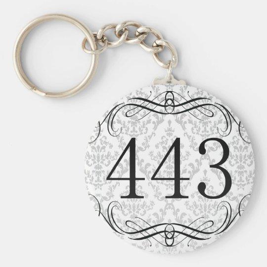 Area Code Keychain Zazzlecom - 443 area code