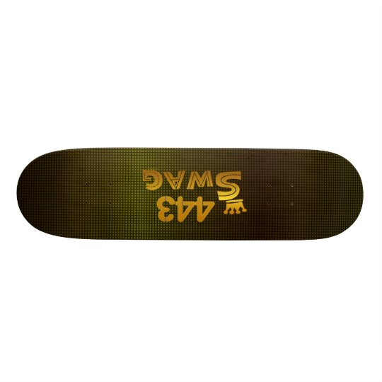 443 Area Code Swag Skateboard Deck