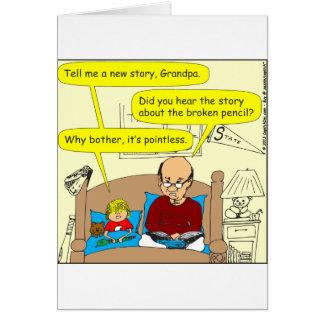 445 pointless Cartoon Card