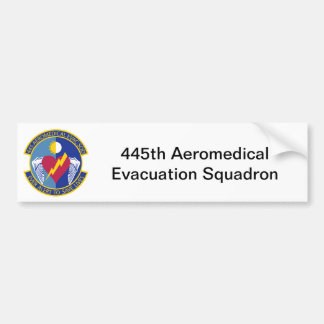 445th Aeromedical Evacuation Squadron Bumper Sticker