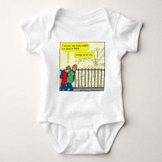 446 all dead Cartoon Baby Bodysuit