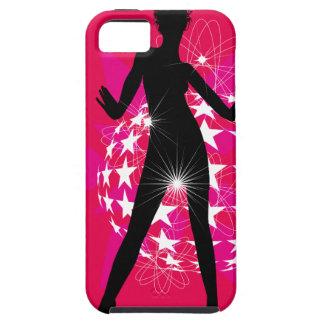 447691 WOMAN DANCING DISCO CLUB FUN LOUD MUSIC STA iPhone SE/5/5s CASE